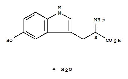 314062-44-7,L-Tryptophan,5-hydroxy-, monohydrate (9CI),(S)-2-AMINO-3-(5-HYDROXY-1H-INDOL-3-YL)-PROPIONIC ACID;C5-HYDROXY-L-TRYPTOPHAN;H-TRP(5-OH)-OH;H-5-HYDROXY-TRP-OH;L-2-AMINO-3-(5-HYDROXYINDOLYL)PROPIONIC ACID;L-5-HTP;L-5-HYDROXYTRYPTOPHAN HYDRATE;2-AMINO-3-(5-HYDROXY-1H-INDOL-3-YL)PROPIONIC ACID