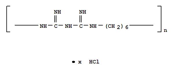 Poly(iminocarbonimidoyliminocarbonimidoylimino-1,6-hexanediyl) hydrochloride(32289-58-0)