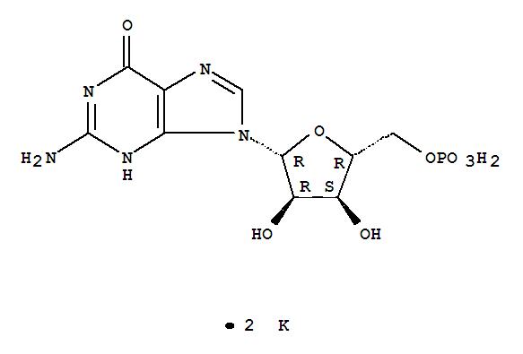 3254-39-5,5'-Guanylic acid,dipotassium salt (7CI,8CI,9CI),5'-Guanosinemonophosphate dipotassium salt; Dipotassium 5'-guanosine monophosphate;Dipotassium 5'-guanylate