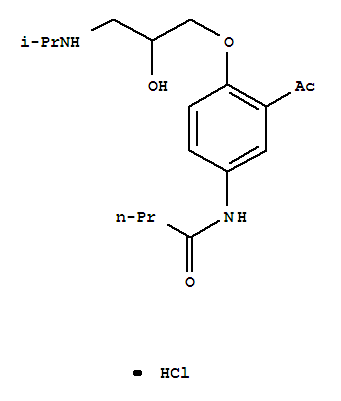 Acebutolol hydrochloride(34381-68-5)