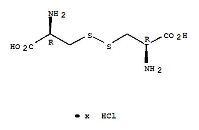 Molecular Structure of 34760-60-6 (L-Cystine,hydrochloride (1:?))