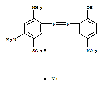 Molecular Structure of 3618-62-0 (Mordant Brown 33)