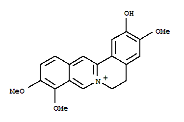 Dibenzo[a,g]quinolizinium,5,6-dihydro-2-hydroxy-3,9,10-trimethoxy-