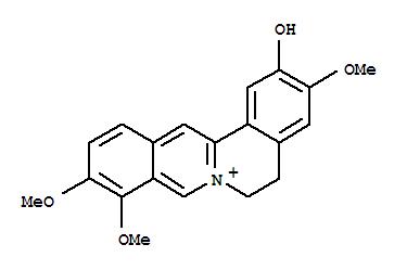 Dibenzo[a,g]quinolizinium,5,6-dihydro-2-hydroxy-3,9,10-trimethoxy-