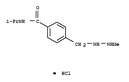 Molecular Structure of 366-70-1 (Procarbazine hydrochloride)