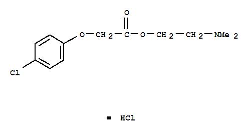 Meclofenoxate hydrochloride(3685-84-5)