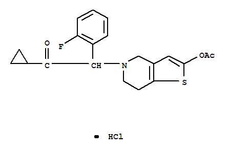 Prasugrel hydrochloride USD2200/kg High purity:99.5%(389574-19-0)
