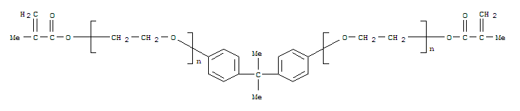 Poly(oxy-1,2-ethanediyl),a,a'-[(1-methylethylidene)di-4,1-phenylene]bis[w-[(2-methyl-1-oxo-2-propen-1-yl)oxy]- manufacture