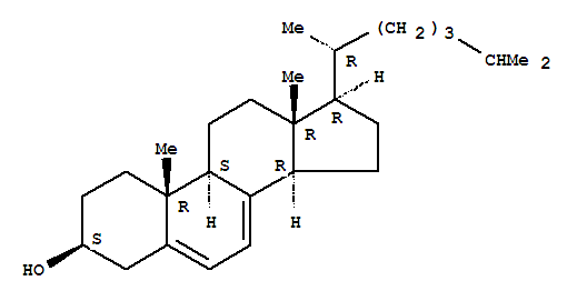 7-Dehydrocholesterol,95%,contains ca. 1 mole  of methanol of crystallization