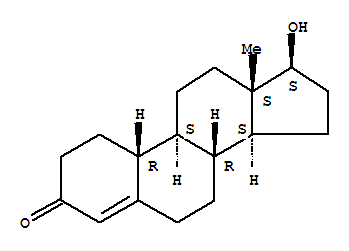 Molecular Structure of 434-22-0 (Nandrolone)