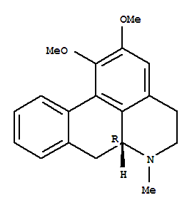 Molecular Structure of 475-83-2 (4H-Dibenzo[de,g]quinoline,5,6,6a,7-tetrahydro-1,2-dimethoxy-6-methyl-, (6aR)-)