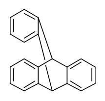 477-75-8,9,10[1',2']-Benzenoanthracene,9,10-dihydro-,9,10-Benzenoanthracene,9,10-dihydro- (7CI); 9,10-o-Benzenoanthracene, 9,10-dihydro- (6CI,8CI);9,10-Dihydro-9,10-o-benzenoanthracene; NSC 122926;Tribenzobicyclo[2.2.2]octatriene; Triptycene; Tryptycene