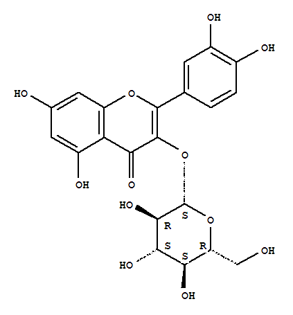 High quality supply pure 21637-25-2/482-35-9 Isoquercitrin(482-35-9)