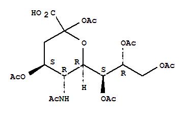 N-Acetylneuraminicacid2,4,7,8,9-Pentaacetate