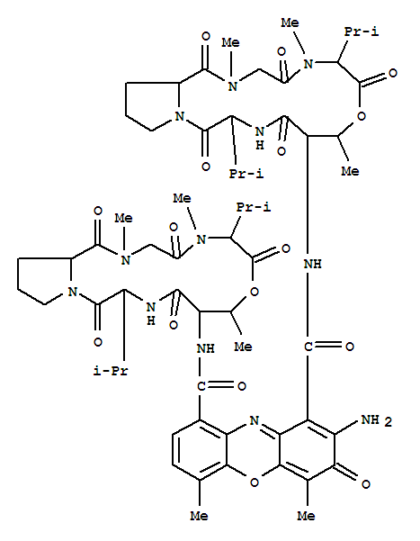 CAS No.50-76-0,Actinomycin D Suppliers,MSDS download