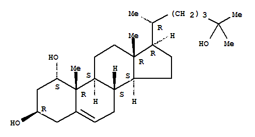 (1S,3R,8S,9S,10R,13R,14S,17R)-17-[(2R)-6-HYDROXY-6-METHYL-HEPTAN-2-YL]-10,13-DIMETHYL-2,3,4,7,8,9,11,12,14,15,16,17-DODECAHYDRO-1H-CYCLOPENTA[A]PHENANTHRENE-1,3-DIOL