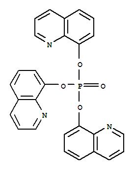 52429-99-9,8-Quinolinol, phosphate(3:1) (ester) (9CI),Tris(8-quinolyl)phosphate