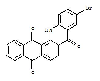 52636-59-6,Naphth[2,3-c]acridine-5,8,14(13H)-trione,10-bromo-,Naphth[2,3-c]acridan-5,8,14-trione,10-bromo- (6CI); 5'-Bromoanthraquinone-2,1(H)-1',2'(N)-benzacridone