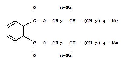Molecular Structure of 53306-54-0 (1,2-Benzenedicarboxylicacid, 1,2-bis(2-propylheptyl) ester)