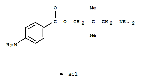 1-Propanol,3-(diethylamino)-2,2-dimethyl-, 1-(4-aminobenzoat...