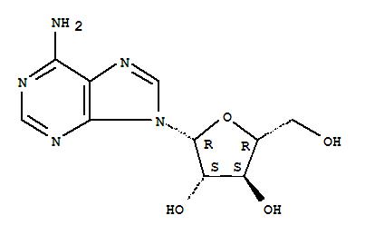 Molecular Structure of 5536-17-4 (9H-Purin-6-amine, 9-beta-D-arabinofuranosyl-)