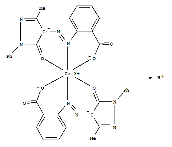 Molecular Structure of 5601-29-6 (Solvent Yellow 21)