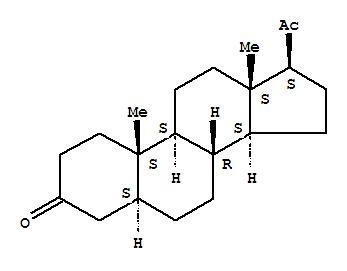 566-65-4,Pregnane-3,20-dione, (5alpha)-,5a-Pregnane-3,20-dione (8CI);5a-Pregnanedione (7CI);(+)-(5a)-Pregnane-3,20-dione;3,20-Allopregnanedione;3,20-Dioxo-5a-pregnane;5a-Dihydroprogesterone;NSC 18319;