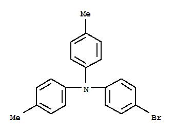 Molecular Structure of 58047-42-0 (Benzenamine,4-bromo-N,N-bis(4-methylphenyl)-)