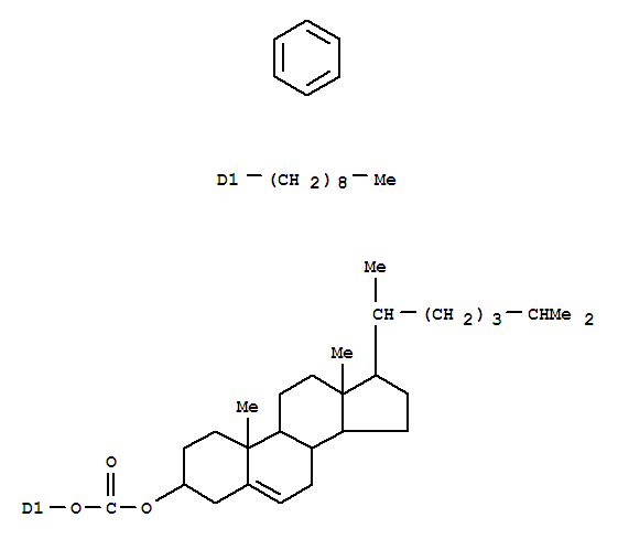 Cholesteryl p-nonylphenyl carbonate