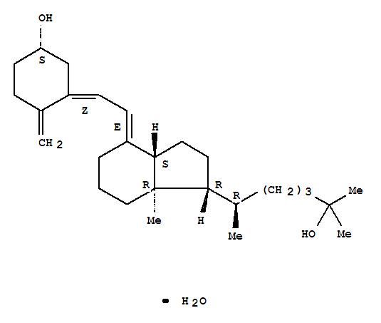 Molecular Structure of 63283-36-3 (Calcifediol)