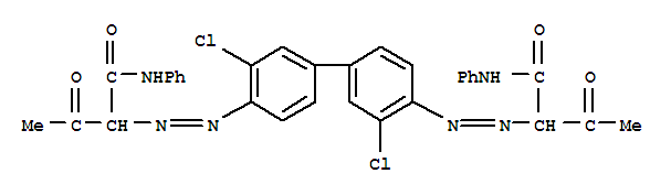 Butanamide,2,2'-[(3,3'-dichloro[1,1'-biphenyl]-4,4'-diyl)bis(2,1-diazenediyl)]bis[3-oxo-N-phenyl- product picture