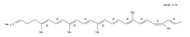 64727-64-6,y,y-Carotene, 9-cis-,(9Z)-Lycopene;9-cis-Lycopene