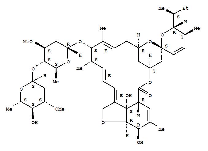 65195-55-3,Avermectin A1a,5-O-demethyl-,Antibiotic C 076B1a;L676863;