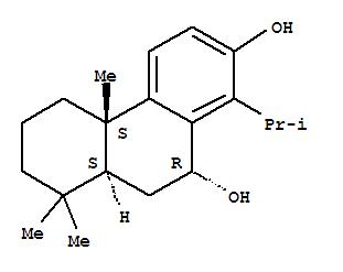 CAS NO:6811-52-5 2,10-Phenanthrenediol,4b,5,6,7,8,8a,9,10-octahydro-4b,8,8-trimethyl-1-(1-methylethyl)-,(4bS,8aS,10R)- Molecular Structure