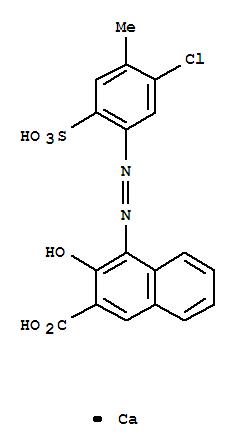 2-Naphthalenecarboxylicacid, 4-[2-(5-chloro-4-methyl-2-sulfophenyl)diazenyl]-3-hydroxy-, calcium salt(1:1)(7023-61-2)