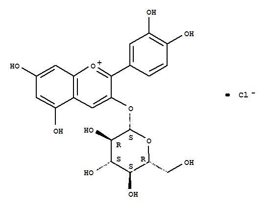 Cyanidin-3-glucoside chloride