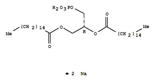 Hexadecanoic acid,1,1'-[1-[(phosphonooxy)methyl]-1,2-ethanediyl] ester, sodium salt (1:2)
