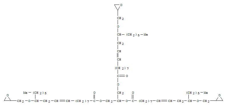 12-(Glycidyloxy)oleic acid glycerol ester