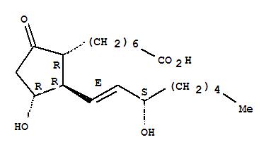 Molecular Structure of 745-65-3 (Prostaglandin E1)