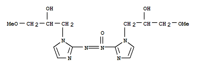 78130-16-2,1H-Imidazole-1-ethanol,2,2'-azoxybis[a-(methoxymethyl)-(9CI),Azoxymisonidazole