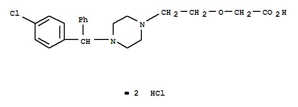 Cetirizine hydrochloride(83881-52-1)