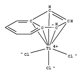 Molecular Structure of 84365-55-9 (Trichloro(indenyl)titanium(IV))