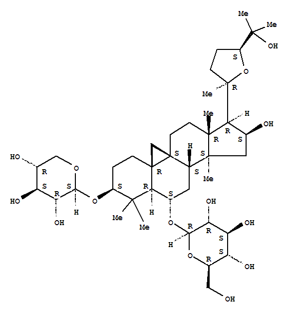 Molecular Structure of 84687-43-4 (Astragaloside IV)