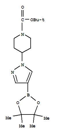 tert-Butyl 4-[4-(4,4,5,5-tetramethyl-1,3,2-dioxaborolan-2-yl)-1H-pyrazol-1-yl]piperidine-1-carboxylate/877399-74-1/99% Purity in Stock
