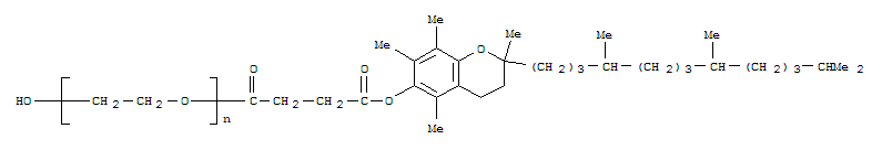 High quality D-Α-Tocopherol Polyethylene Glycol Succinate ( Tpgs )  supplier in China