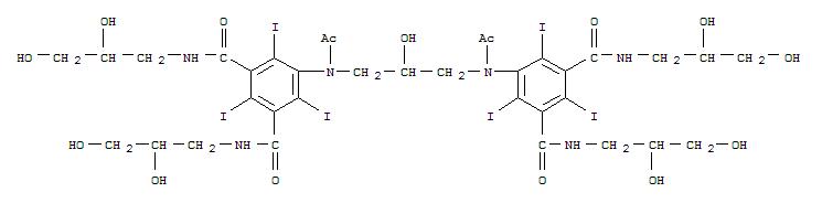 Molecular Structure of 92339-11-2 (Iodixanol)