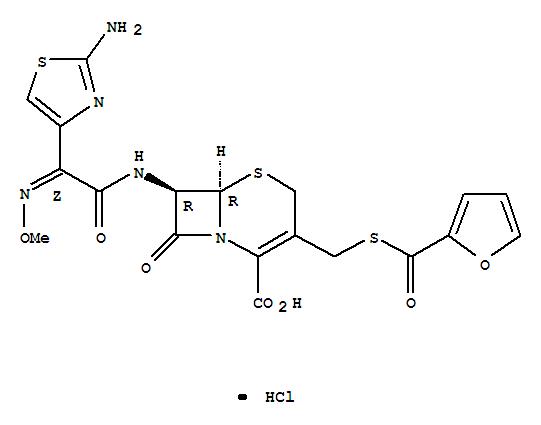 Molecular Structure of 103980-44-5 (Ceftiofur hydrochloride)