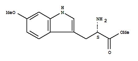 CAS NO:107447-04-1 L-Tryptophan,6-methoxy-, methyl ester Molecular Structure