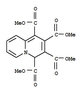 Molecular Structure of 1101-39-9 (4H-Quinolizine-1,2,3,4-tetracarboxylicacid, 1,2,3,4-tetramethyl ester)