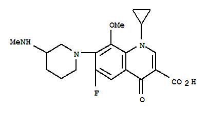 Molecular Structure of 127294-70-6 (Balofloxacin)